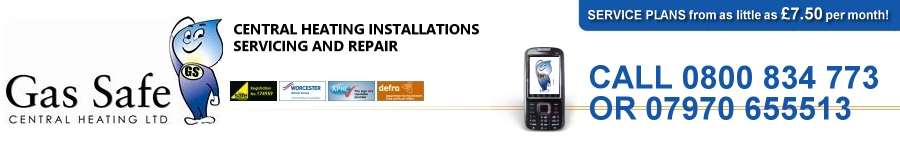 Gas Safe Central Heating Ltd | Installations Servicing & Repair CALL 0800 834 773